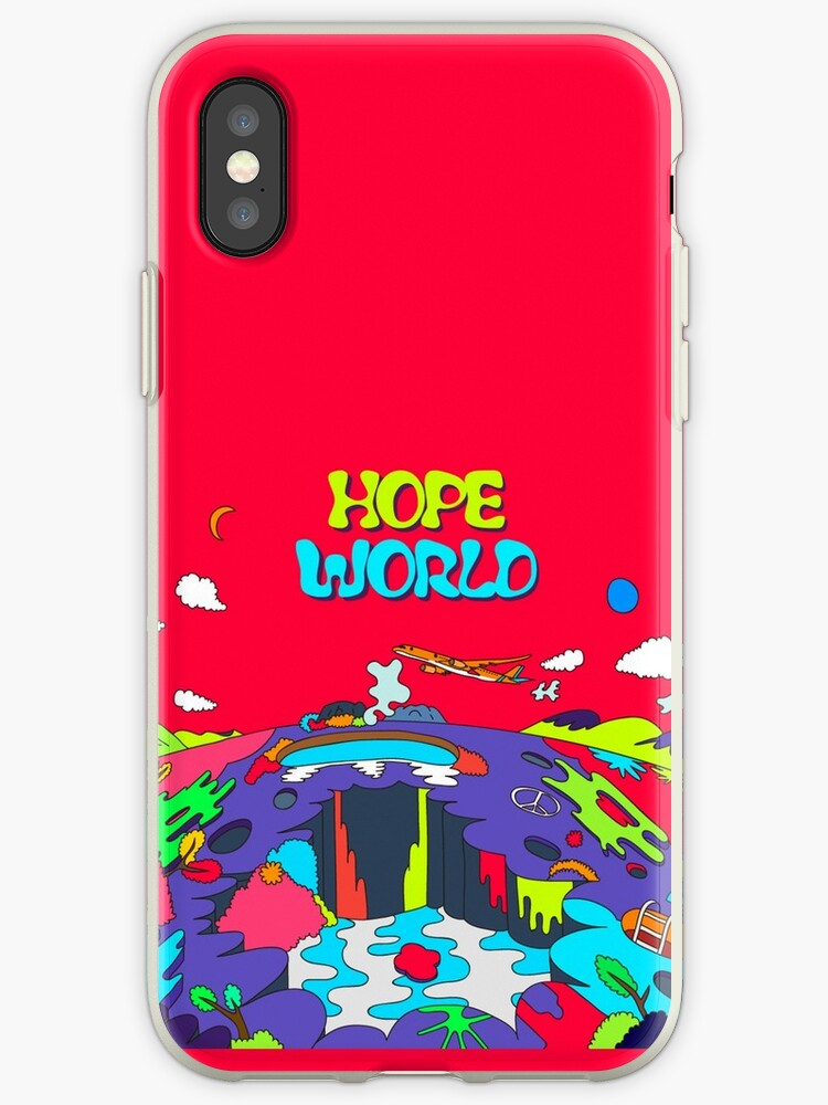 new style 5d1c6 32954 'J-Hope Hope World Phone Case #HIXTAPE' iPhone Case by lunation