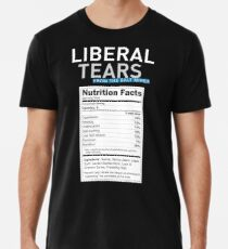 aa35b885 SPECIAL Liberal/Democrat Tears From the Salt Mines Logo with salty tears  supplement facts -