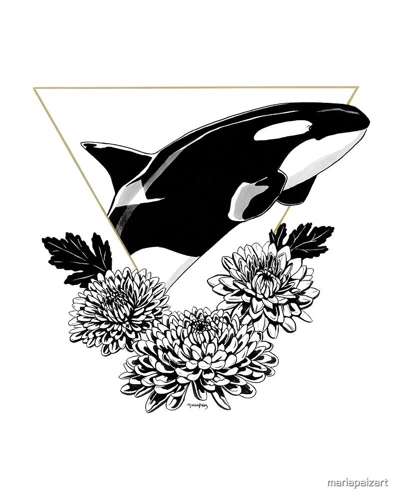 Orca of Wisdom by mariapaizart