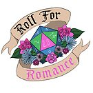 Roll For Romance - Polysexual Pride by flailingmuse