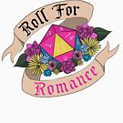 Roll For Romance - Pan Pride by Sam Spicer