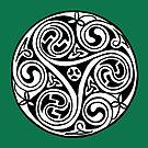 Celtic Art - Triskele by stíobhart matulevicz