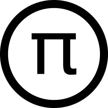 Pi Logo Shirt by GeneralHooHa