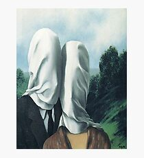 The Lovers I -Rene Magritte Photographic Print