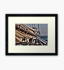Alabama Mast Framed Print