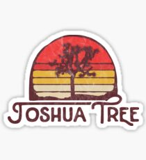 Retro Joshua Tree Nationalpark Vintage Throwback Original Design Sticker