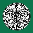 Celtic Art - Interlaced Birds by stíobhart matulevicz