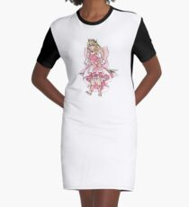 Kamichama Karin Graphic T-Shirt Dress
