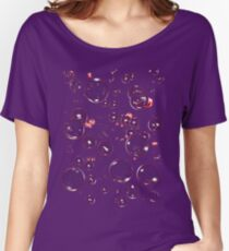 Red Bubbles Women's Relaxed Fit T-Shirt