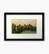 Society Framed Print