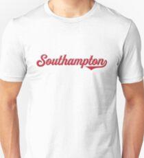 Southampton City England - Vintage Sports Typography Unisex T-Shirt