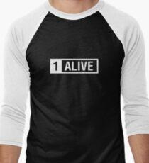 PUBG Playerunknowns Battlegrounds 1 Alive Men's Baseball ¾ T-Shirt