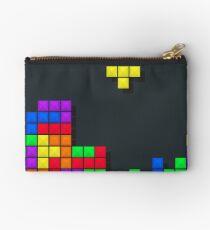 Tetris print design Studio Pouch