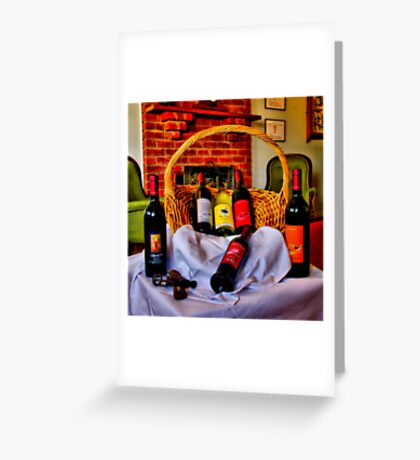 """""""From The Cellar Door"""" Greeting Card"""