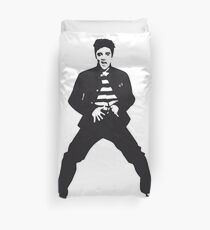 Elvis The Pelvis Duvet Cover