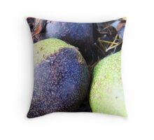 gutter fruit Throw Pillow