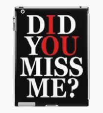 Jim Moriarty- Sherlock  iPad Case/Skin