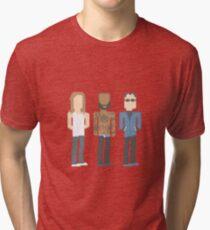 Death Grips Pixel Tri-blend T-Shirt
