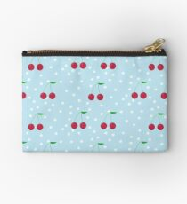 juicy cherry polka dots Studio Pouch