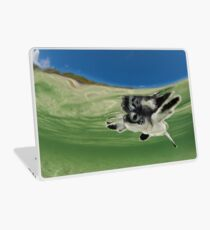 Green Turtle Baby Laptop Skin