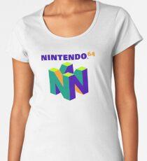 Nintedo 64 Logo | Inverse Colours  Women's Premium T-Shirt