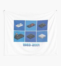 Retro Console Segaworks1983-2001 Wall Tapestry