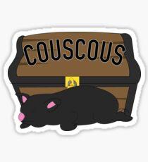 Couscous Pig Guardian  Sticker