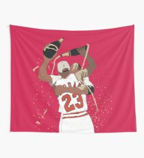 Michael Jordan And Scottie Pippen Celebration Wall Tapestry