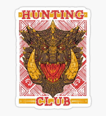 Hunting Club: Akantor Sticker