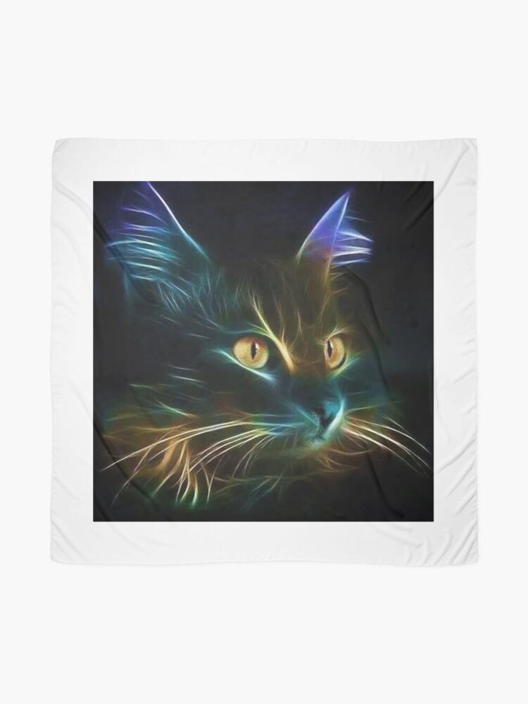 Vista alternativa de Pañuelo Cat Neon