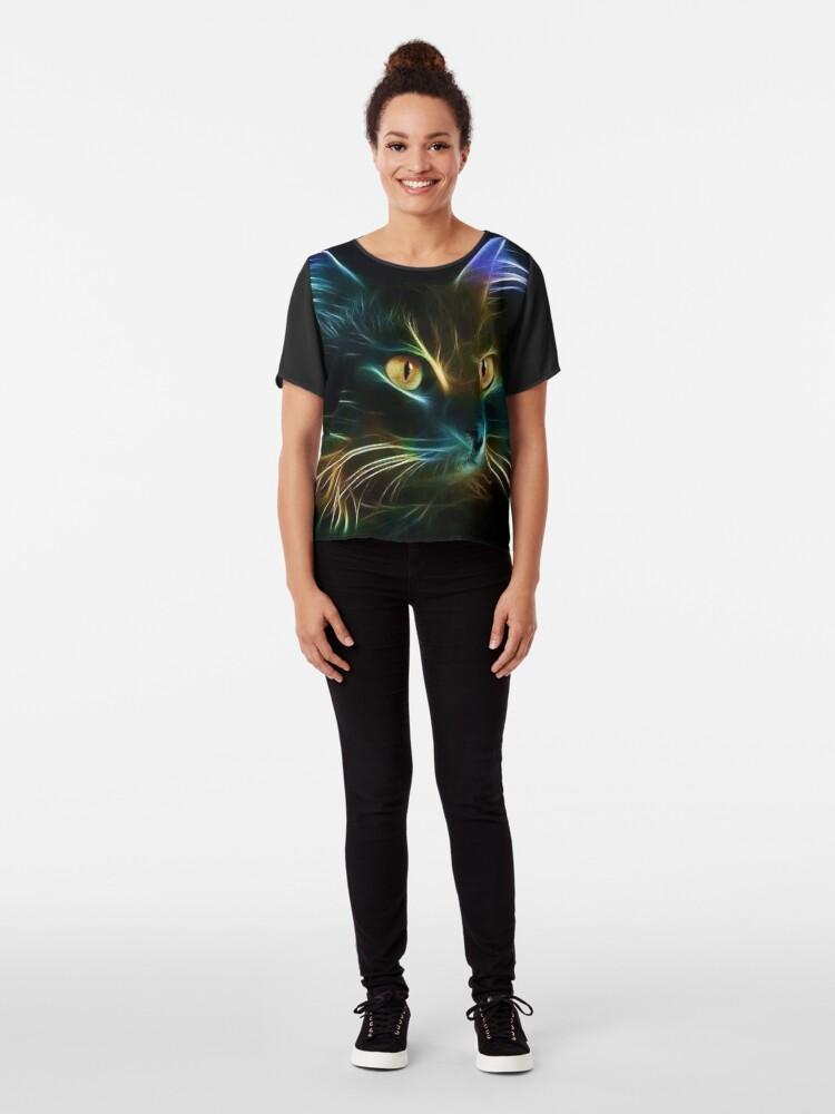 Vista alternativa de Blusa Cat Neon