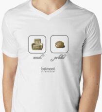 couch / potato (light) Men's V-Neck T-Shirt