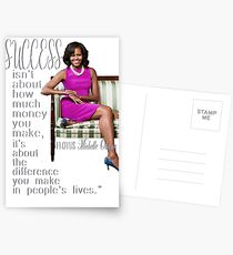 FLOTUS Michelle Obama Postcards