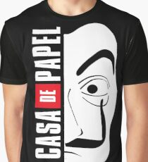 LA CASA DE PAPEL MASK Graphic T-Shirt
