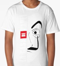 LA CASA DE PAPEL MASK Long T-Shirt