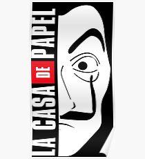 LA CASA DE PAPEL MASK Poster