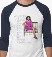 FLOTUS Michelle Obama Men's Baseball ¾ T-Shirt