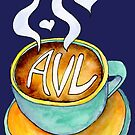 I love Asheville a Latte by Annie Riker