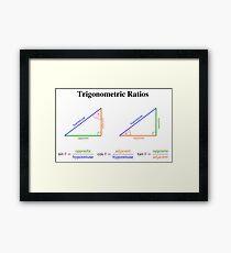 Trigonometric Ratios Framed Print