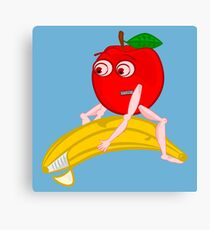 Osteopath Fruit Canvas Print
