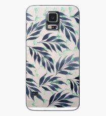 Indigo leaves Case/Skin for Samsung Galaxy