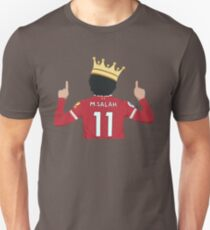 Mo Salah Egyptian King Liverpool FC Design Unisex T-Shirt
