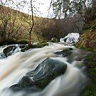 Catrigg Lower falls by Stephen Liptrot