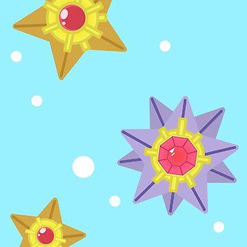 Floating Starfish  by xanimekingdomx