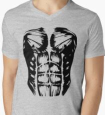 Muscles Men's V-Neck T-Shirt