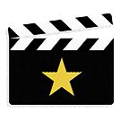 Movie Star Clapperboard Design for Film Lovers by SpikyHarold