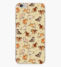 shibes in cream iPhone Case