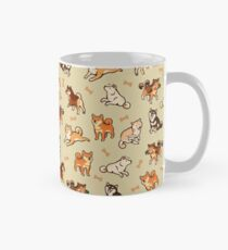 shibes in cream Classic Mug