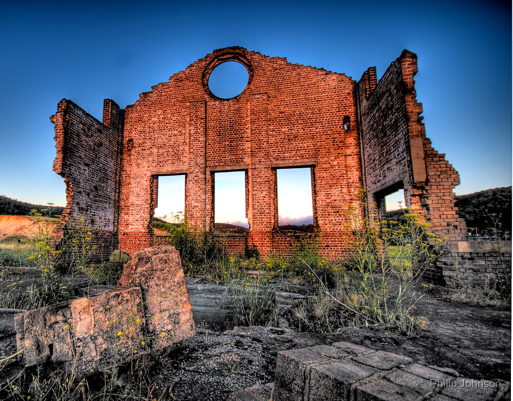 MIne, Mine , Mine - Blast Furnace Park , Lithgow NSW 0 The HDR Experience by Philip Johnson