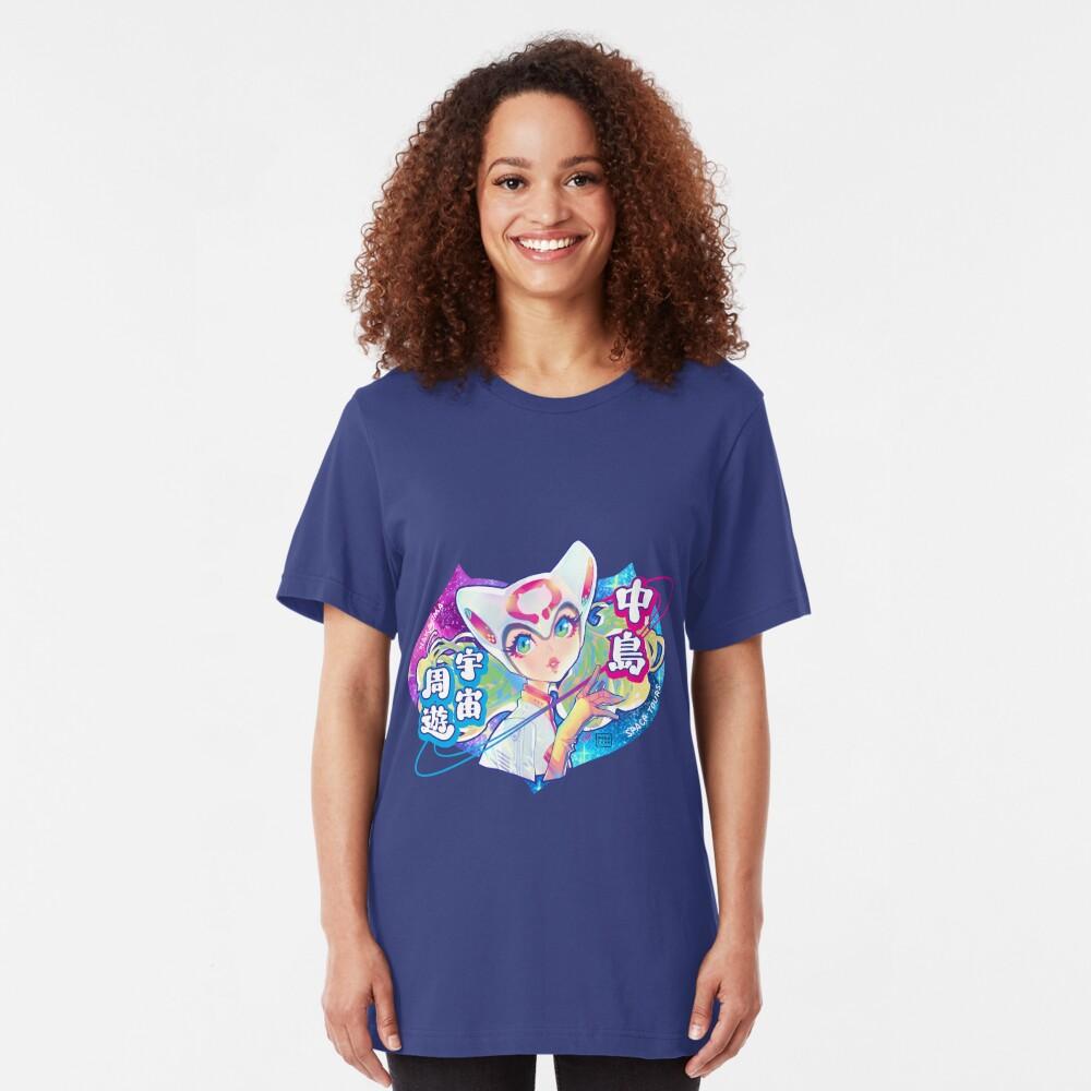 space tours Slim Fit T-Shirt